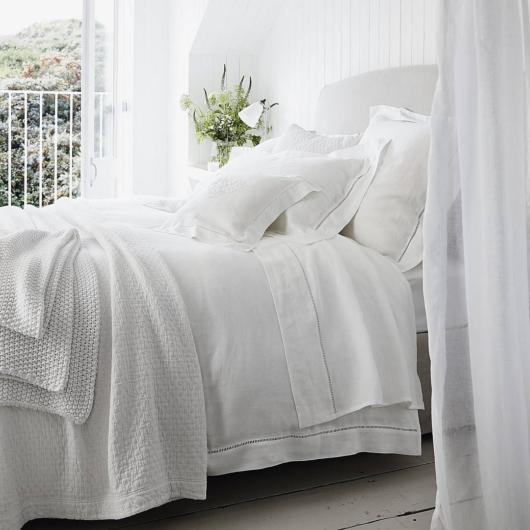 Our Santorini Linen Bed Linen Collections Gives Beau Colour