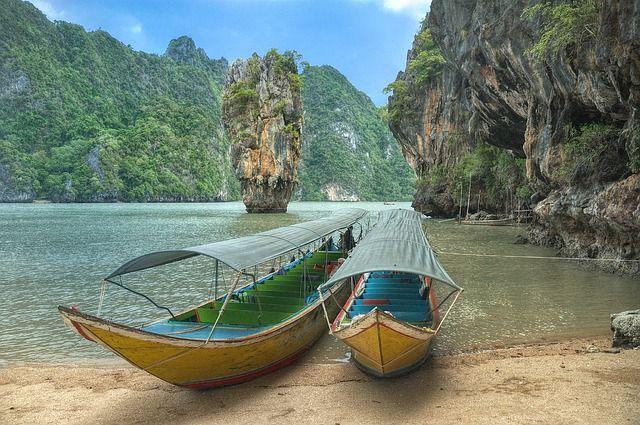 Dieses Bild wurde in Thailand aufgenommen. Schöner geht es doch fast nicht mehr.