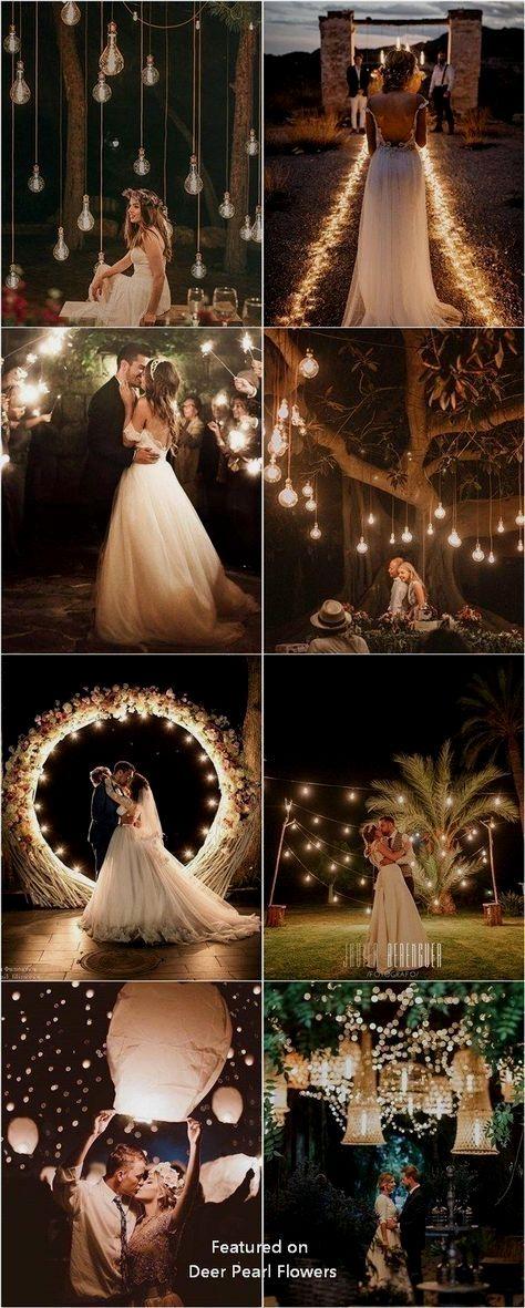 Outdoor Wedding Decoration #octobreautomne