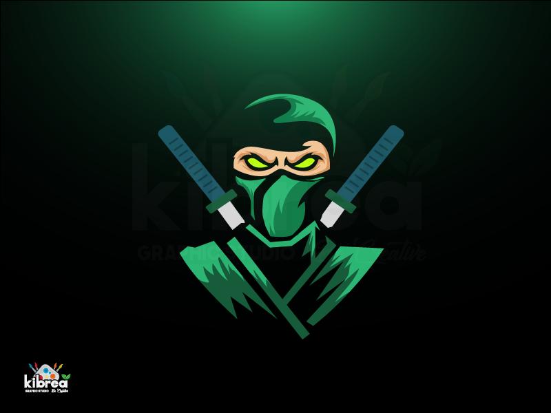 Ninja Ninja logo, Mascot design, Game logo design