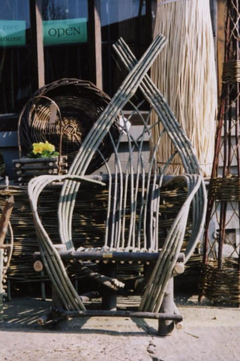 bent stick chair | chairs | Pinterest | Rustic furniture ...