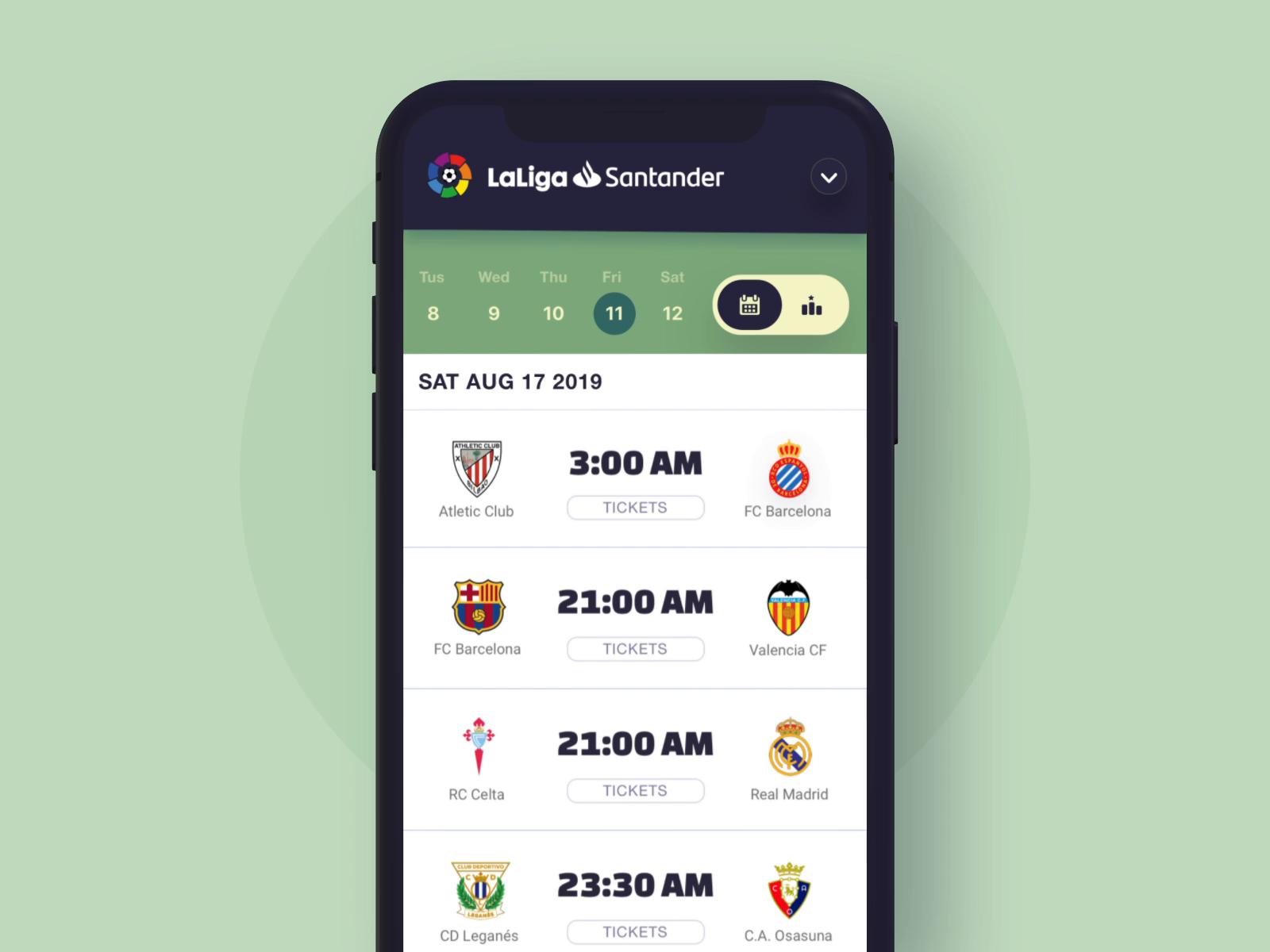 Soccer League Mobile App Change League Animation By Dannniel Soccer League Mobile App League