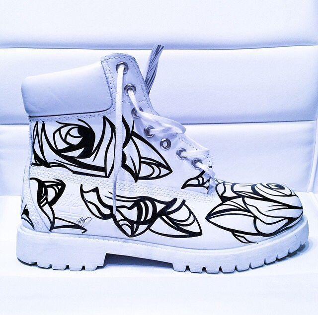 Timberland Tatoo Custom Pinterest Boots Chaussure AXxfSwCq