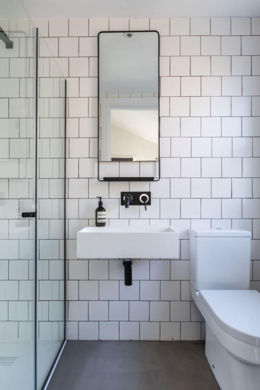 Industrial Home Decor27 Breathtaking Industrial Decor Mirror Ideas Saleprice 37 Black Bathroom Bathroom Red Gray Bathroom Accessories