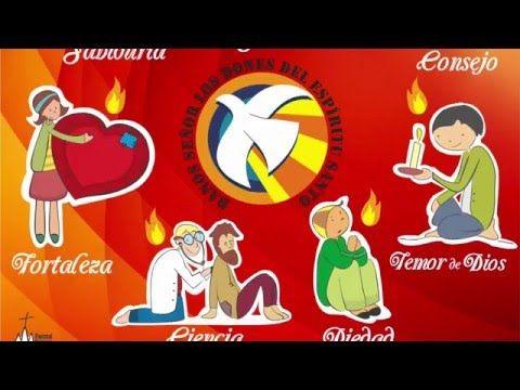 El Significado De Los 7 Dones Del Espíritu Santo Aqa Youtube Dones Del Espiritu Espíritu Santo Espiritus