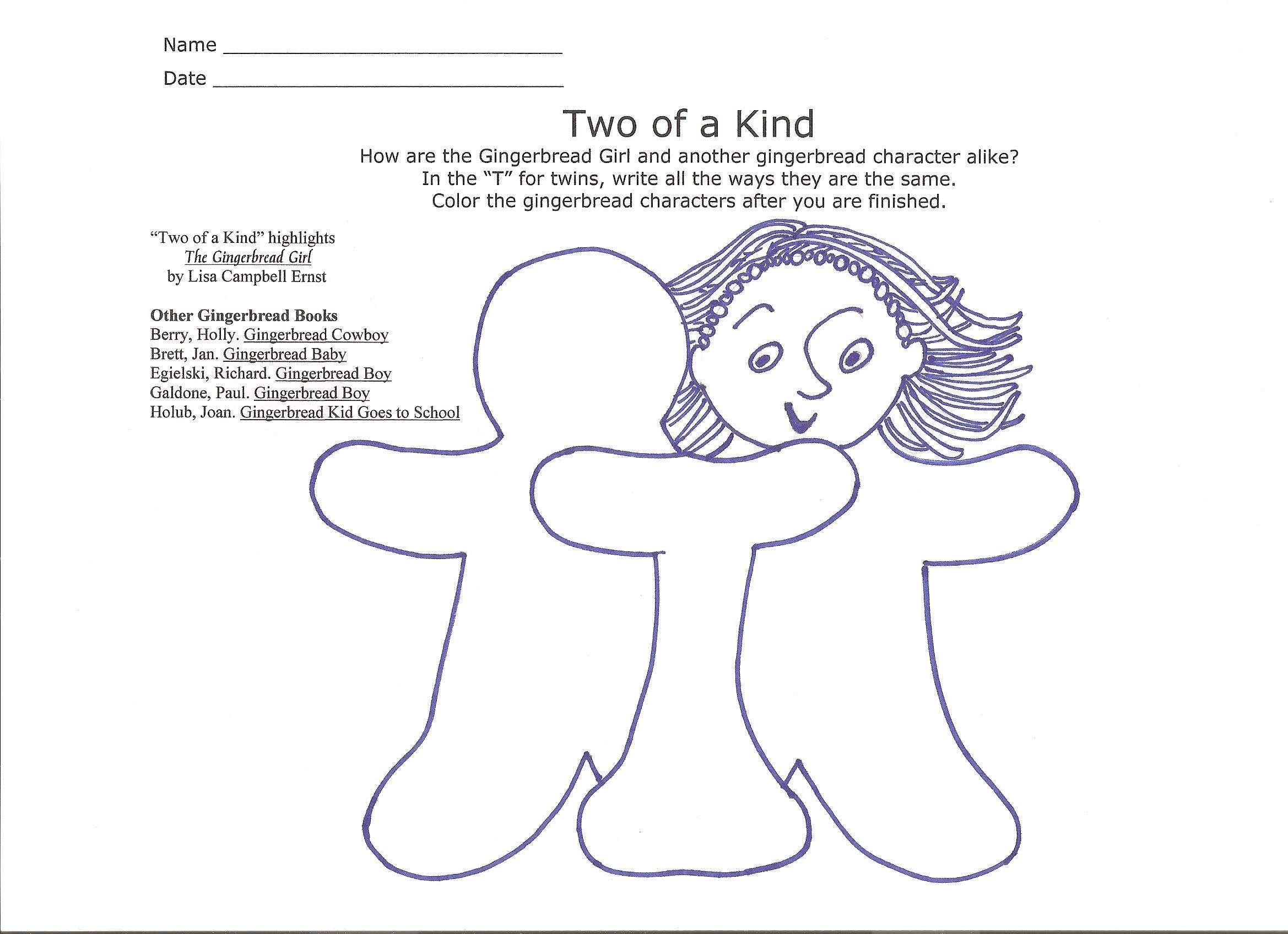 The Gingerbread Girlboy Activity Reading Pinterest Activities