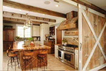 Kitchen Barn recycled barn kitchen! | barndominiums & metal homes | pinterest