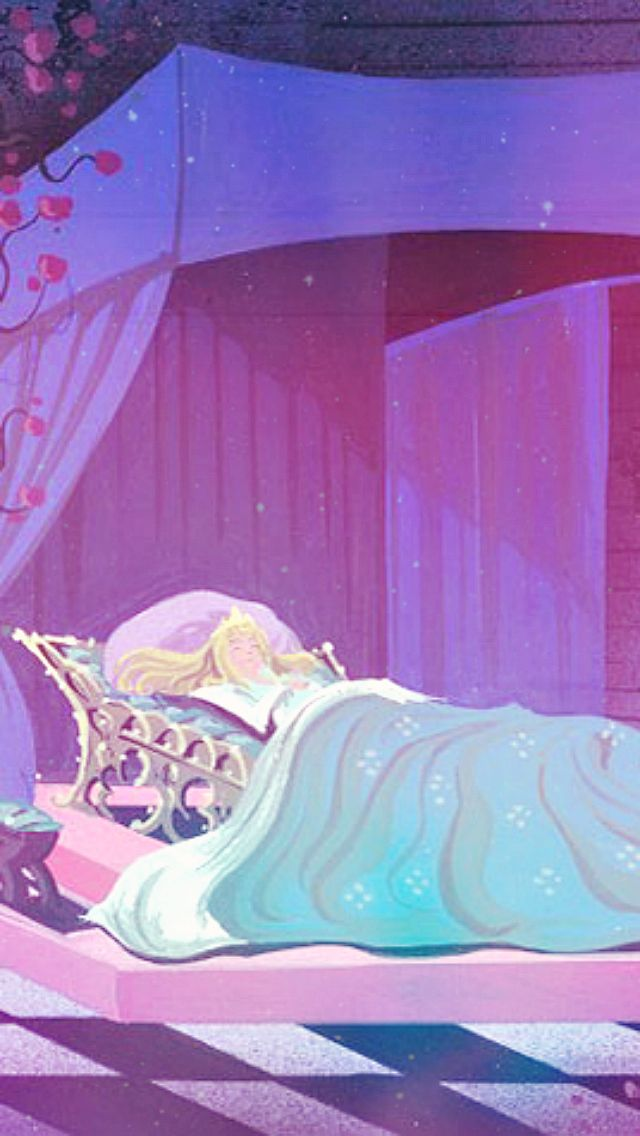 Sleeping Beauty Concept Art IPhone Wallpapers