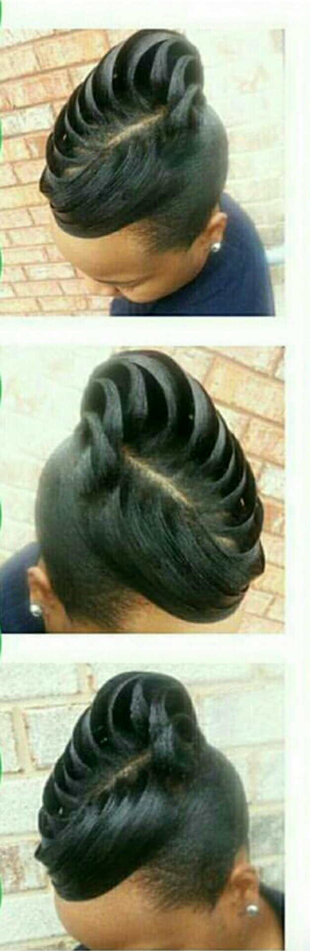 Pin by reggi on hair pinterest hair style updos and updo