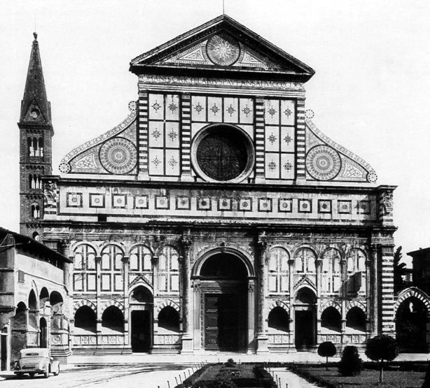 Leon battista alberti facciata di santa maria novella for Novella homes