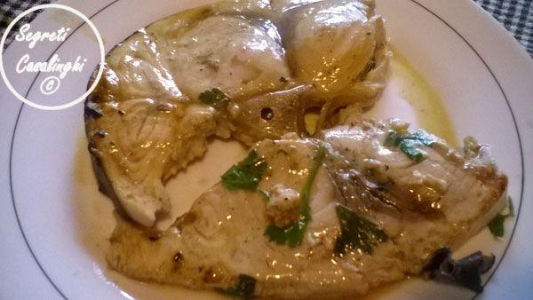 Pesce Spada Marinato Fornopesce Spada Al Fornopesce Spada