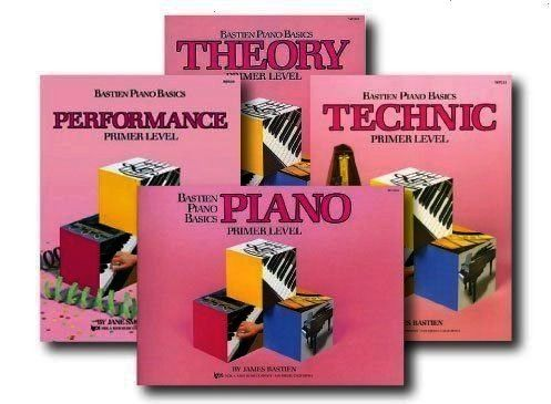 Basics Primer Level  Learn to Play Four Book Set  Includes Primer Level Pi Wp205  Bastien Piano Basics  Theory  Primer Level primer Levelbastien Piano Basics Wp205 Bastie...