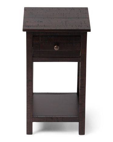 Best Of Black Accent Table with Drawers