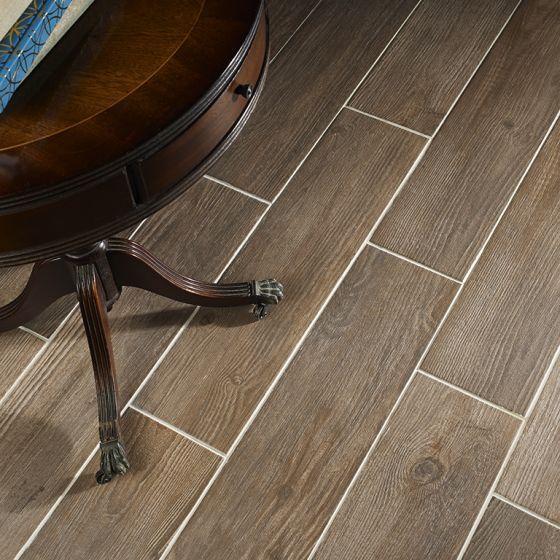 Simple Delamere Walnut Wood Effect Glazed Porcelain W&F 150x600mm Review - Inspirational Ceramic Wood Tile Modern