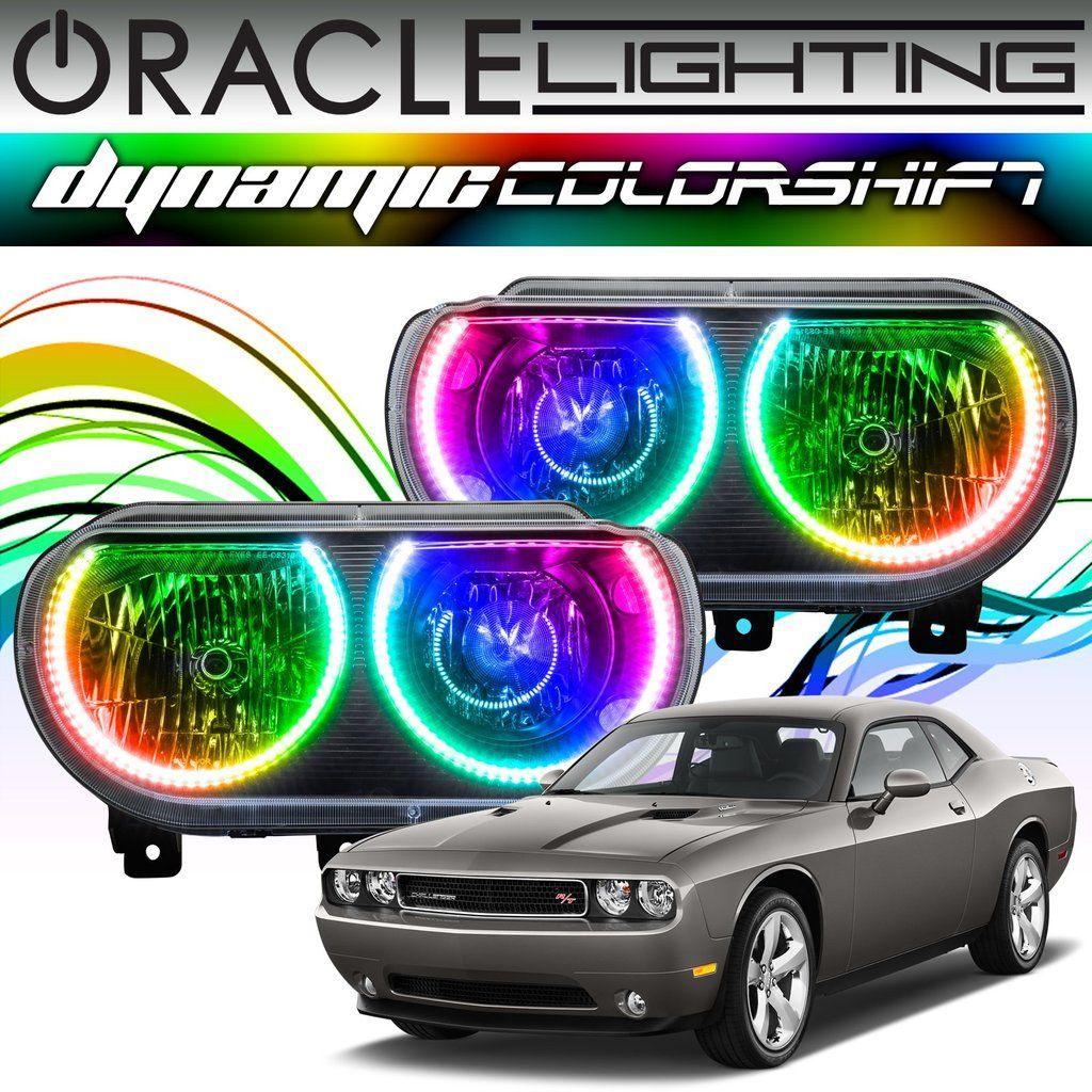2008-2014 Dodge Challenger ORACLE Dynamic ColorSHIFT