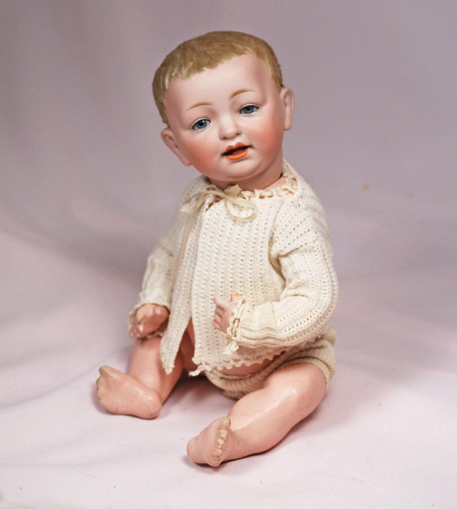 66 GERMAN BISQUE CHARACTER BABY BY KESTNER WITH