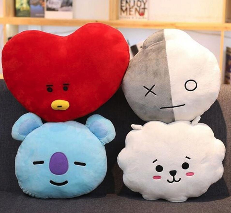 Hearty Kpop Bts Exo Got7 Twice Army Wanan One Bt21 Army Bomb Light Stick Plush Throw Pillow Cute Sofa Cushion New Gifts Costume Props Novelty & Special Use