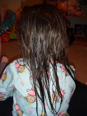 Hair Detangler.   2 simple ingredients: pure vegetable glycerine and water.   To make your own,just combineone part glycerine andfive parts water and add to a spray bottle. Spray generously over wet hair and towel dry. Comb through thehair, and you're done!