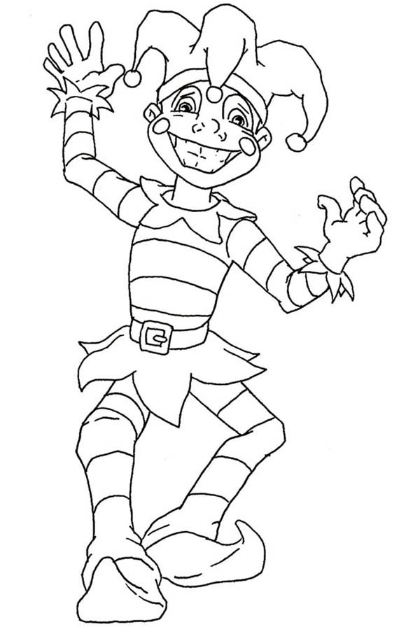 The Favorite Jester Figure On Mardi Gras Coloring Page Download Print Online Coloring Pages For Fr Online Coloring Pages Cute Coloring Pages Coloring Pages