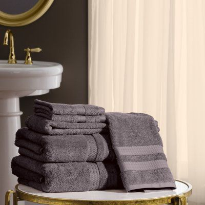 Hotel Premier Collection 6 Piece Bath Towel Set By Member S Mark