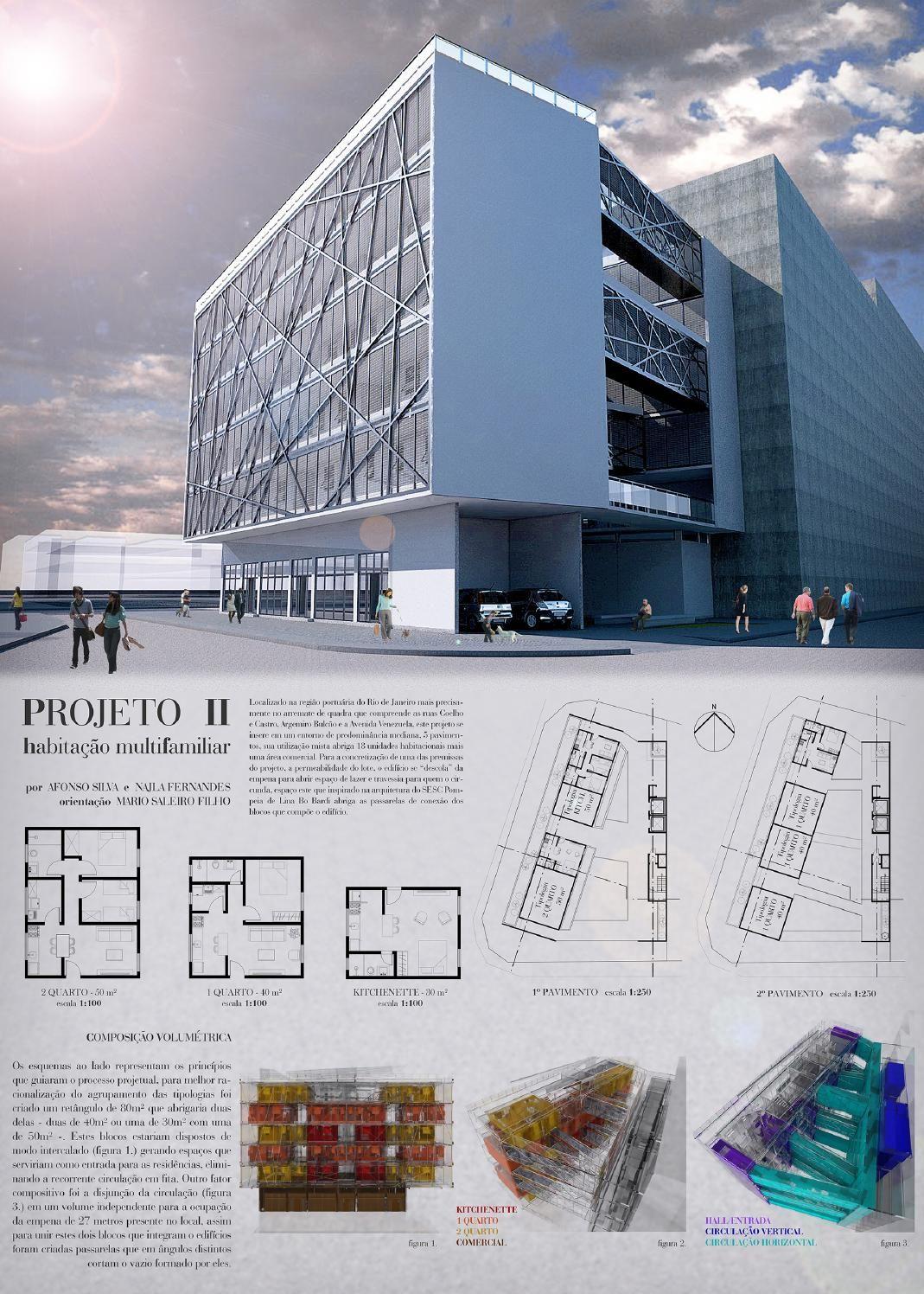 Excepcional Habitação multifamiliar - Banner | Projeto de arquitetura  VI52