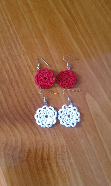 Free Doily Earring Pattern On Ravelry Doily Earrings Pattern By
