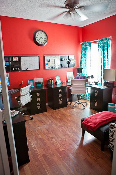Home Office Face Lift Red