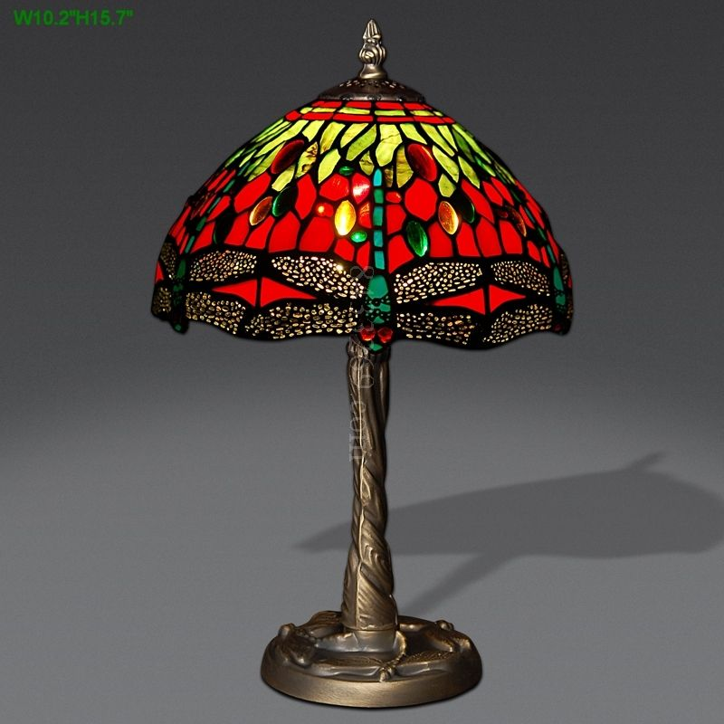 Dragonfly Tiffany Lamp 10S4-20T704 | Dragonfly Tiffany Lamps | Pinterest