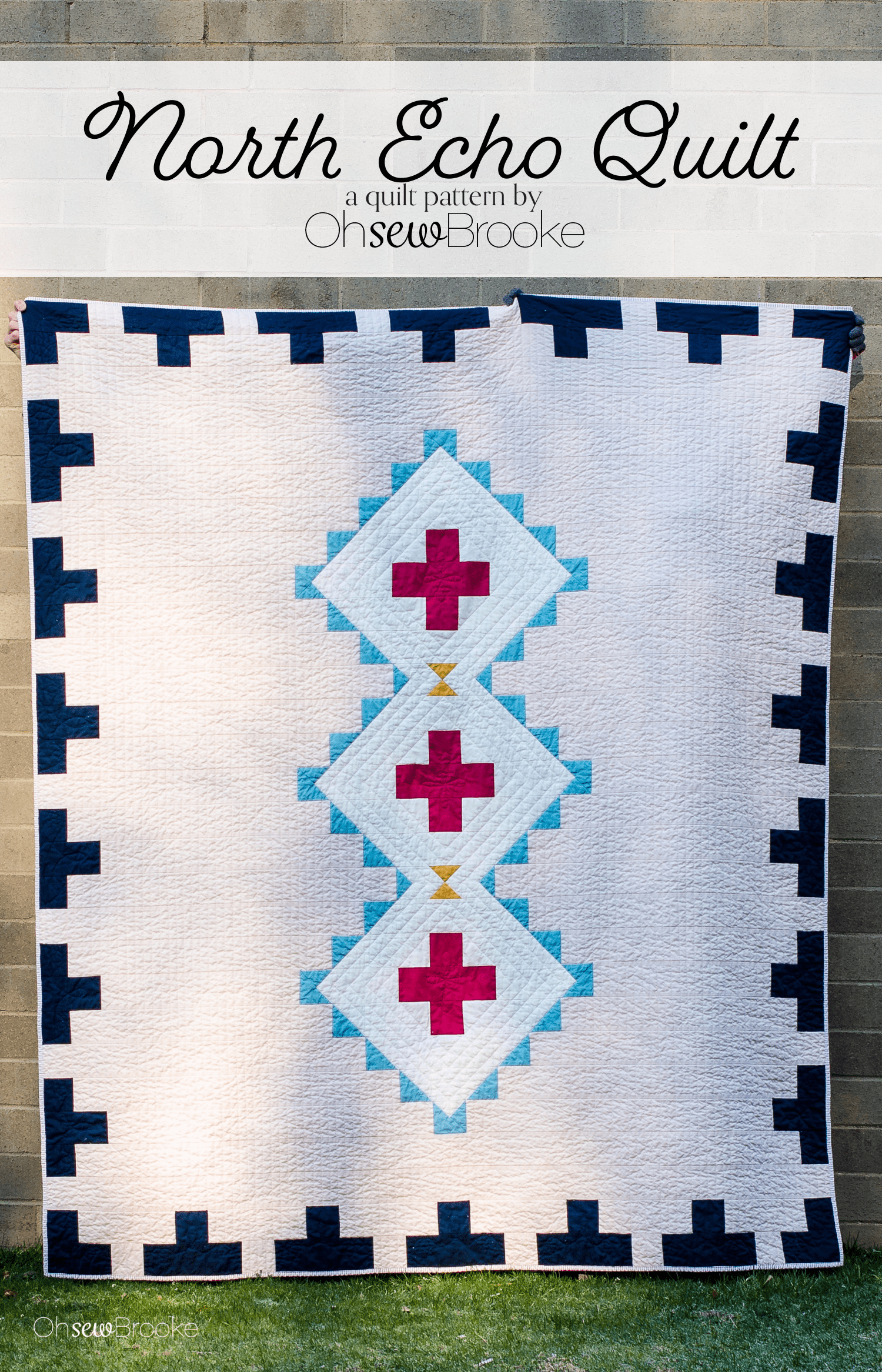 North Echo Quilt pattern is live