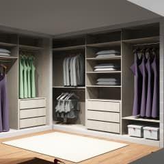 Vestidores y closets de estilo moderno por Amplitude - Mobiliário lda