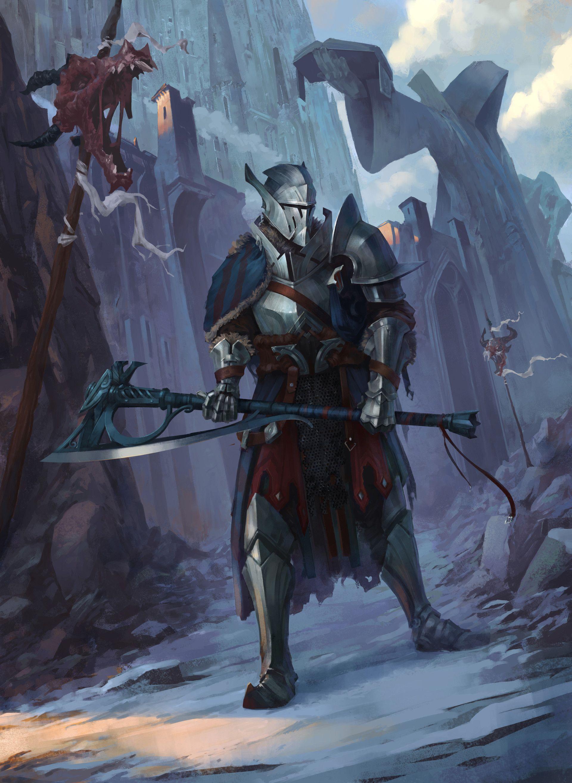 Artstation 19 Knight Taras Susak In 2019 Fantasy