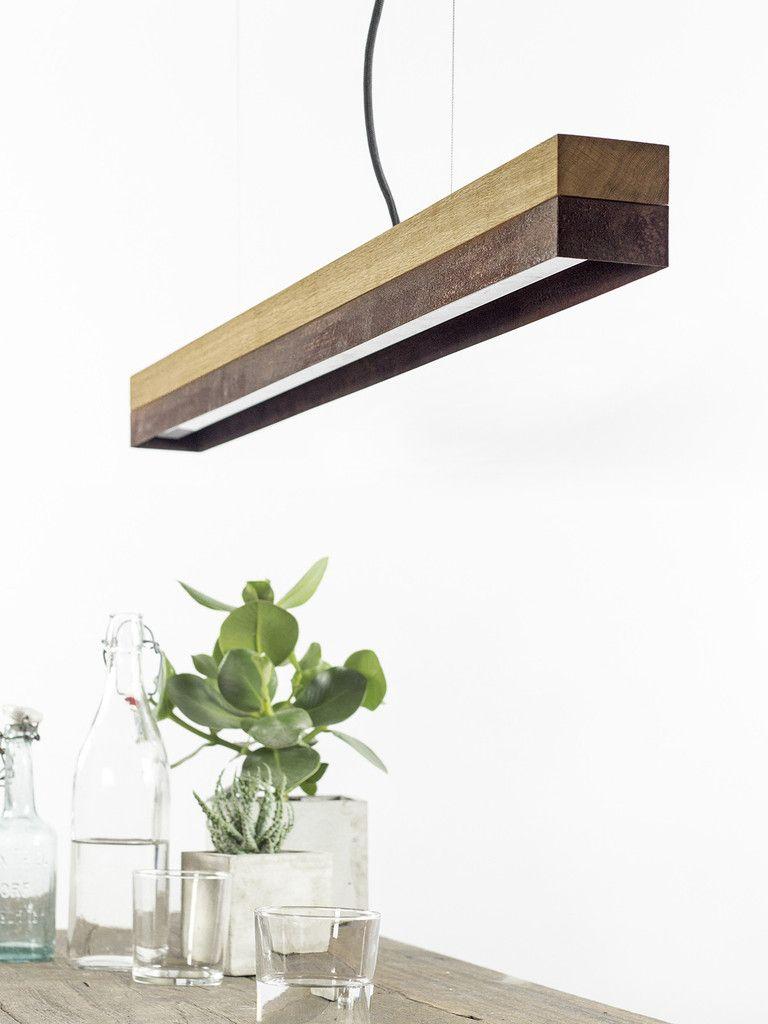 [C1o]cortenThe rectangular pendant lamp [C1o]corten is ...