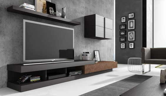 inspirant meuble tv contemporain design
