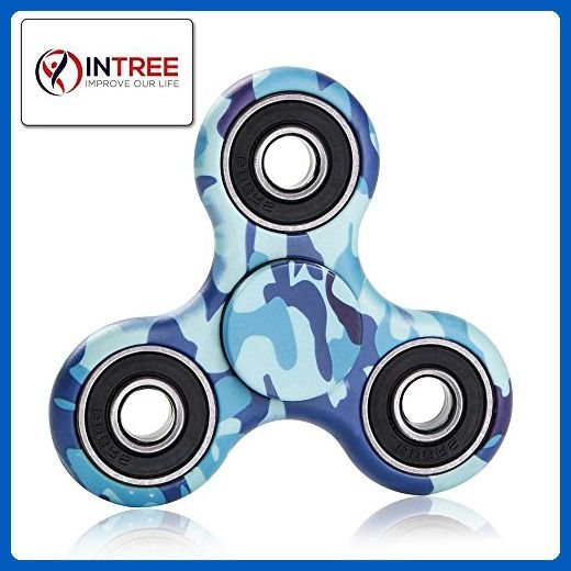 InTree Fid Spinner Camouflage Fid Hand Spinner Camo Tri