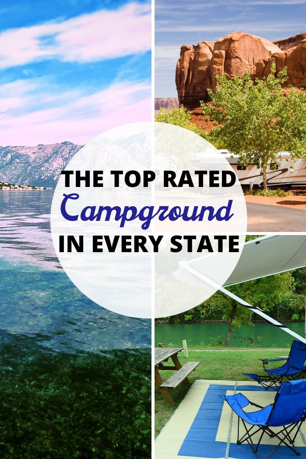 Best Places To Camp In An RV 2020 (Infographics)