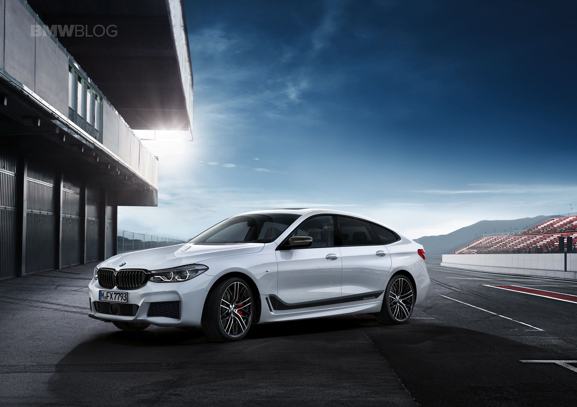 The BMW M Performance Tuning accessory for the new BMW 6 Series GT