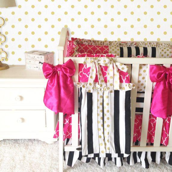 Unique Cheetah Crib Sets