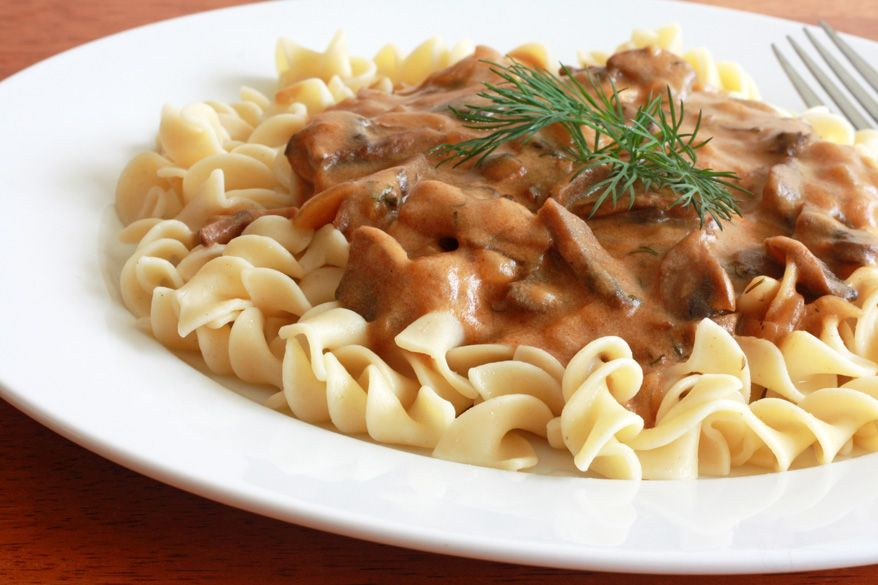 Hungarian Mushroom Pasta Recipe The Daring Gourmet Recipe Pasta Recipes Mushroom Recipes Pasta Mushroom Soup Recipes
