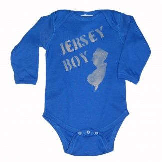 Ali & Joe Jersey Boy Onesie
