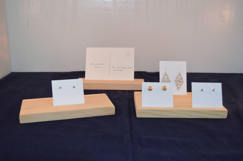 Earring Card Display / Earring Card Holder / Earring Card Organizer ...