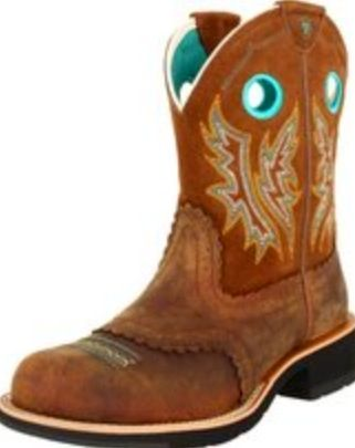 D toe Cowboy Boots