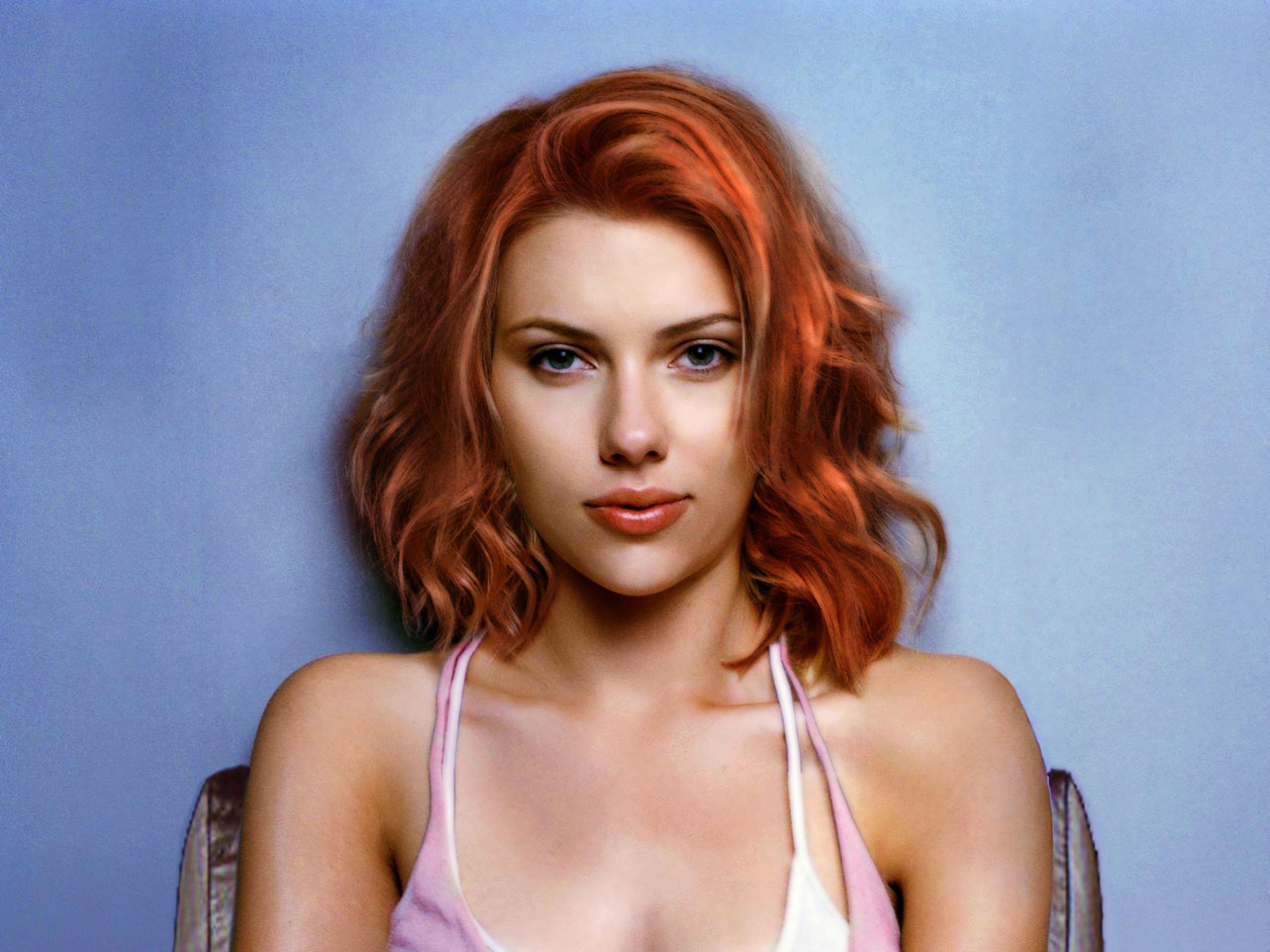 Aimee busty redhead milf