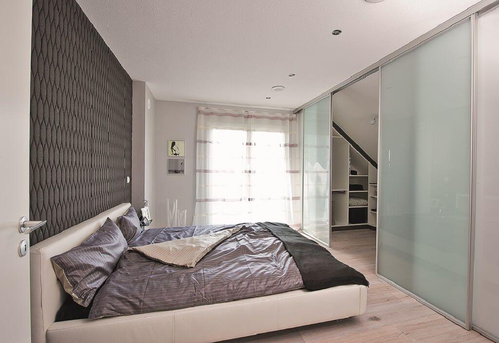 Schlafzimmer Ideen Mit Dachschräge Als Ankleide Nutzen   Inneneinrichtung  Dachgeschoss Generation 5.5 Haus 300 WeberHaus Fertighaus