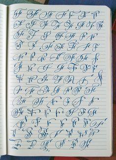 Majuscule F Variants By Polish Calligrapher Barbara Galinska On Behance