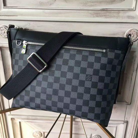 7d8b3f2da3bb Louis Vuitton N40003 Mick PM Messenger Bag Damier Graphite Canvas ...