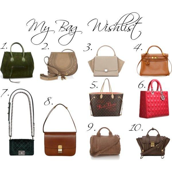 My Bag Wishlist