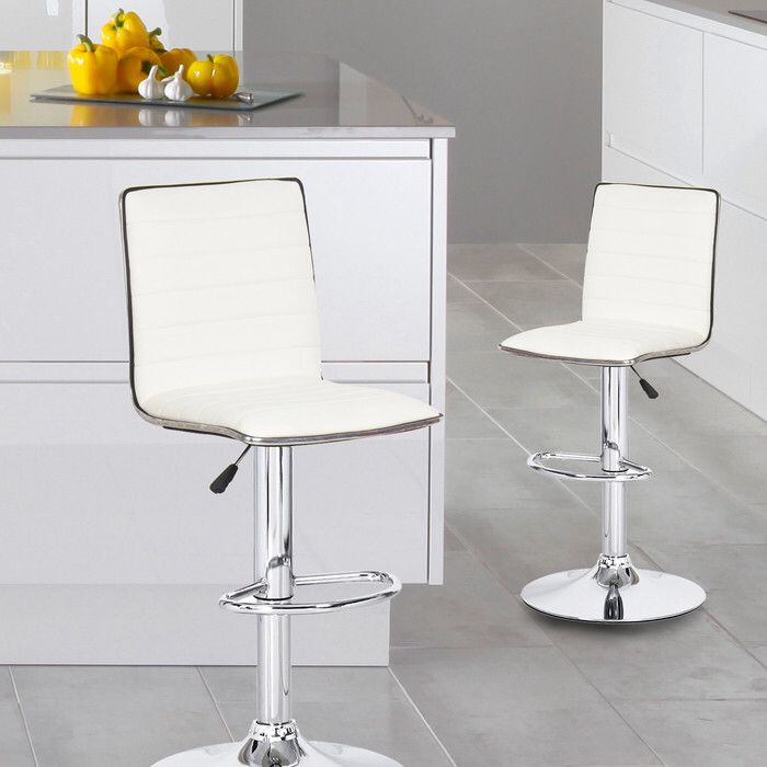 savoy adjustable height swivel bar stool dining area pinterest