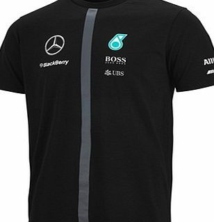 b6e7aac50c Brandon AB Mercedes AMG Petronas 2015 Replica Short Sleeve Mercedes AMG  Petronas 2015 Replica T-