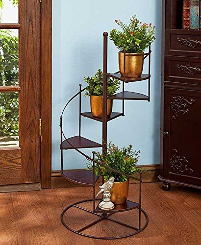 Spiral Staircase Display Stand Spiral Staircase Plant Stand GetSet40Save Mini Garden Pinterest 32
