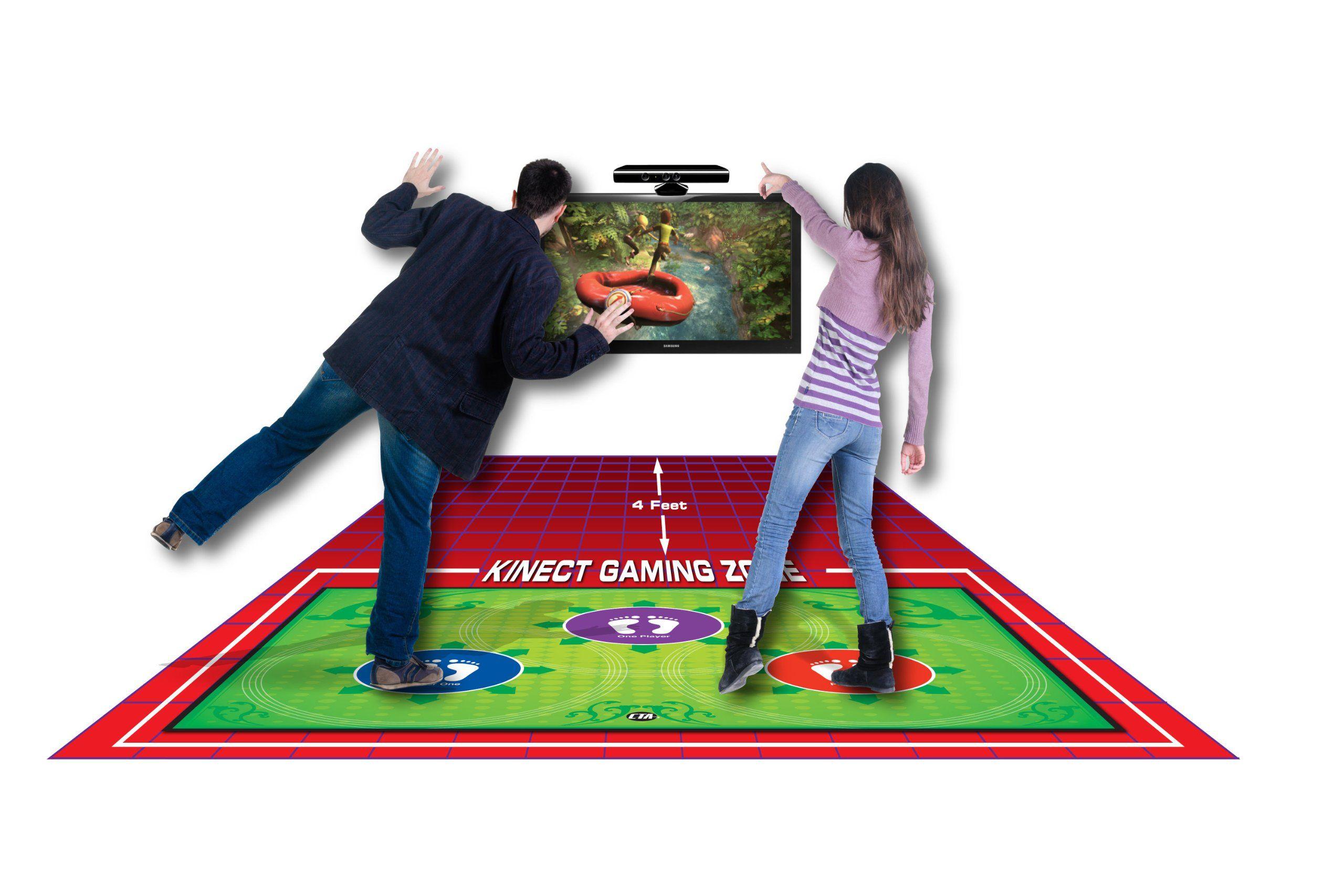 CTA Digital Xbox 360 Kinect Perfect Range AntiSlip Gaming